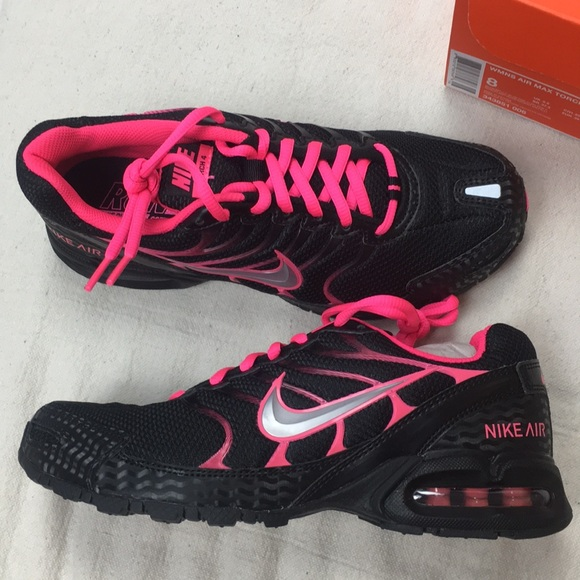 260254a3a3b59 Women s Nike Air Max Torch 4 Black Pink NEW 8